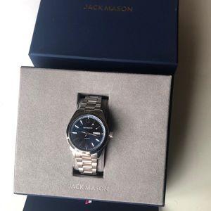 Jack Mason Canton Day-Date Automatic Watch! NWOT